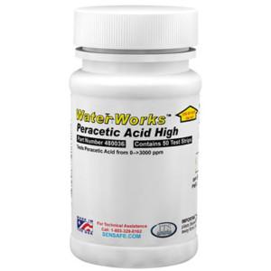 WaterWorks™ Peracetic Acid High Bottle of 50 tests | 480036