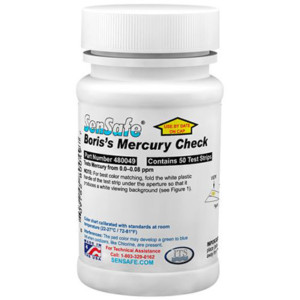 SenSafe® Mercury (Boris's) Bottle of 50 tests | 480049