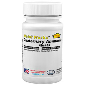 WaterWorks™ Quaternary Ammonia Bottle of 50 tests | 480066