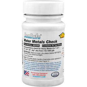 SenSafe® Water Metals Check - Bottle of 50 tests | ITS-480309