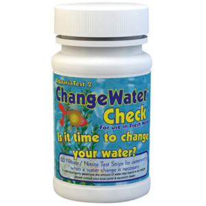 AquariaTest™ 2 - ChangeWater Check - Fresh Water Nitrate / Nitrite Test Strips | 480354