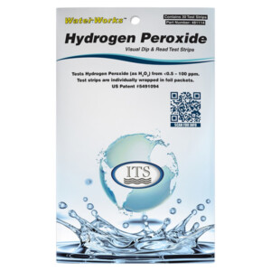 WaterWorks™ Hydrogen Peroxide (H2O2) - 30 Foil packed tests | ITS-481114