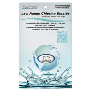 SenSafe Low Range Chlorine Dioxide, 30 foil packed tests   ITS-481128