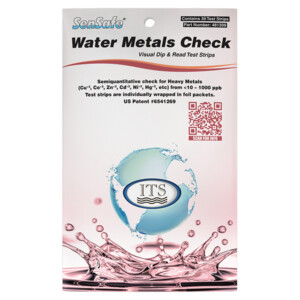 SenSafe® Water Metals Check - 30 foil packed tests | ITS-481309