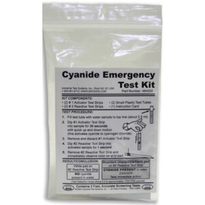 Cyanide Emergency Test Kit - 2 tests | ITS-484020