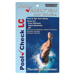 Pool Check® Low Chlorine 3 in 1 - 10 foil-packed tests   ITS-484338
