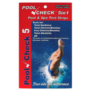 Pool Check® 5 in 1 - 10 foil-packed tests | ITS-484339