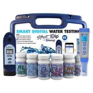 eXact iDip® Tap Water Professional Test Kit | Smart Photometer System | 486101-TW2-K
