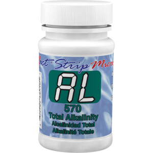 eXact Strip Micro 570 Total Alkalinity II - Bottle of 100 Tests | ITS-486680-II