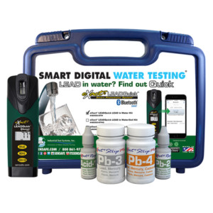 eXact® LEADQuick® w/Bluetooth® Water Test Kit Smart Photometer System   486700-BT-W