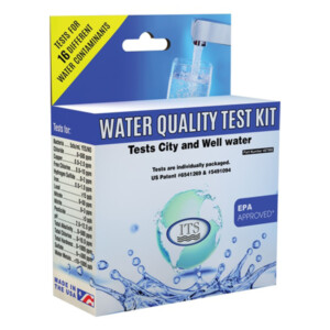 Water Quality Test Kit - 2 tests each (bacteria, lead, & pesticide) | ITS-487986