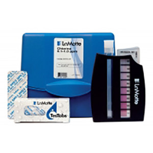 Chlorine in Drinking Water Test Kit, OS2, 0.1-1.0 PPM | LaMotte 3312-01