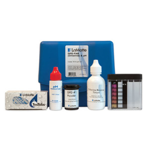 FAS-DPD (Chlorine), Bromine & pH Test Kit, DROP COUNT, Dipcell | LaMotte 7514-PH-01