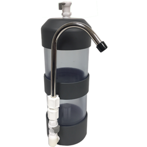 Modular Dual Chamber Mini-softener - empty (includes tubing and faucet) | PW-2010M
