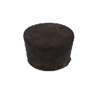 Rubber stopper, solid, for 125 or 250 ml flask   PW-2040