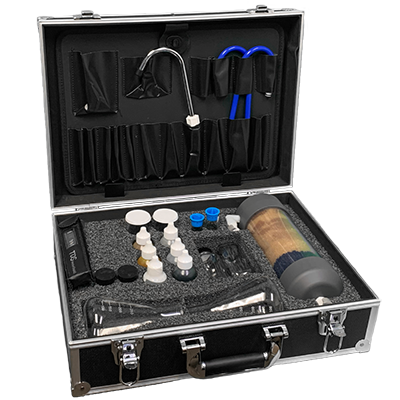 WET Silver / Gold Professional Demonstration Kit for water treatment professionals   PW-2048   PW-2045